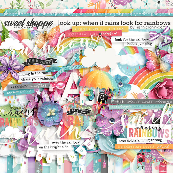Look Up: When it Rains look for Rainbow by Kristin Cronin-Barrow