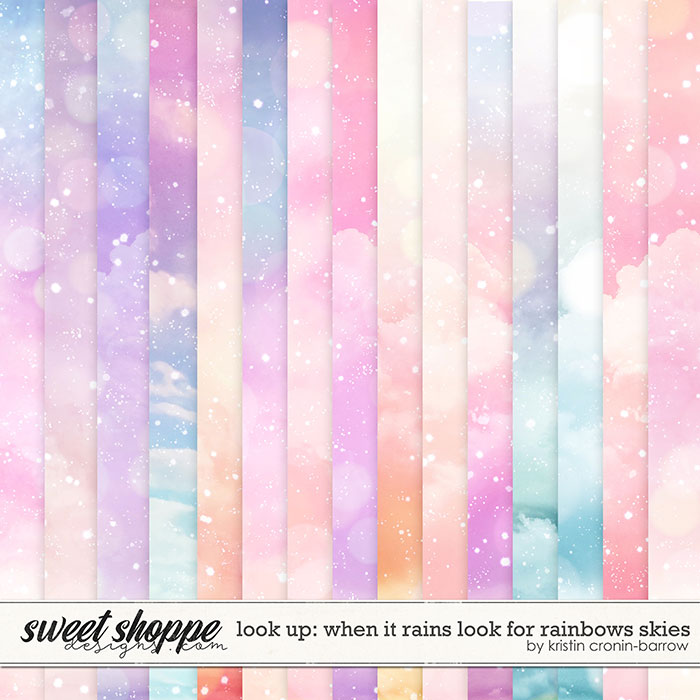 Look Up: When it Rains look for Rainbows: Skies by Kristin Cronin-Barrow