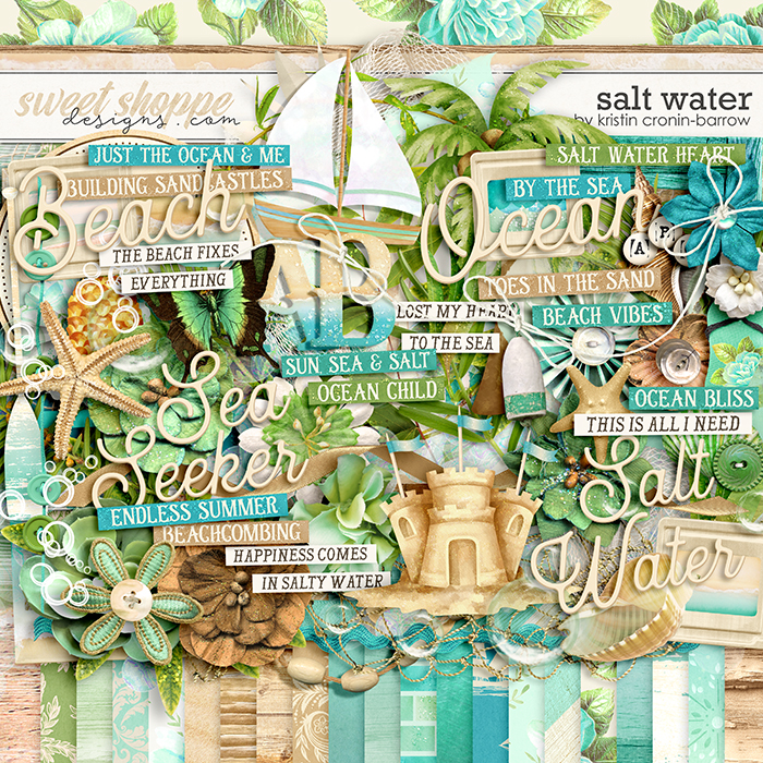 Salt Water by Kristin Cronin-Barrow