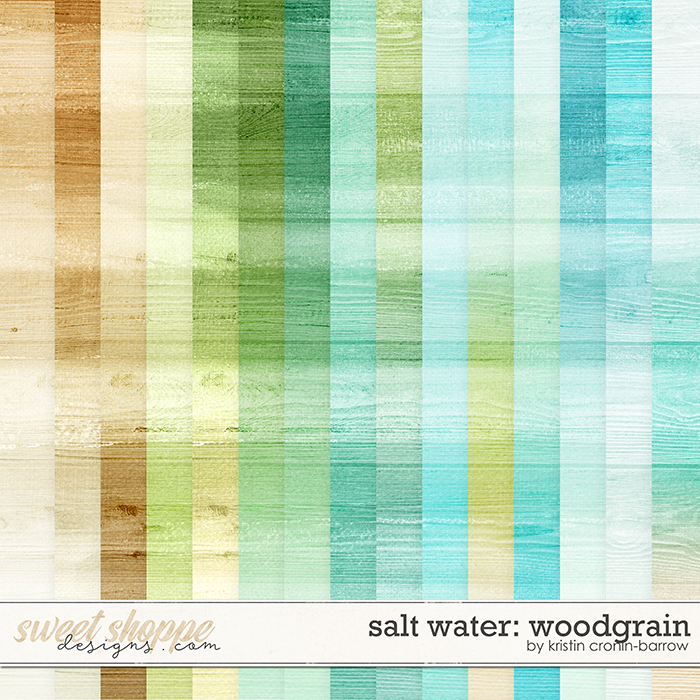 Salt Water: Woodgrain by Kristin Cronin-Barrow