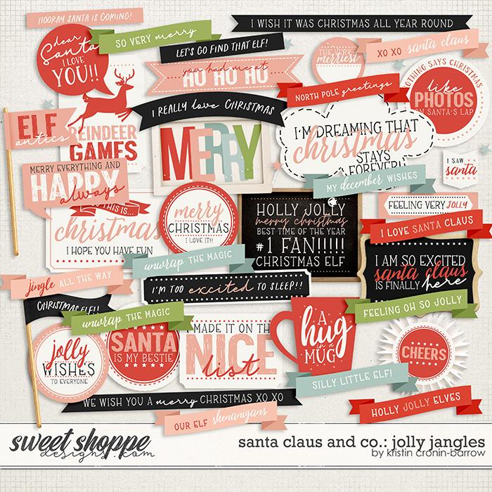 Santa Claus and Co: Jolly Jangles by Kristin Cronin-Barrow