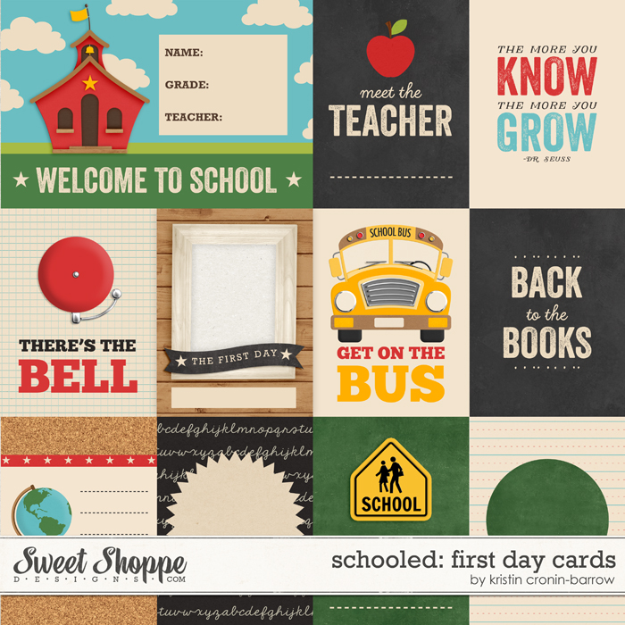 Schooled: First Day Cards by Kristin Cronin-Barrow
