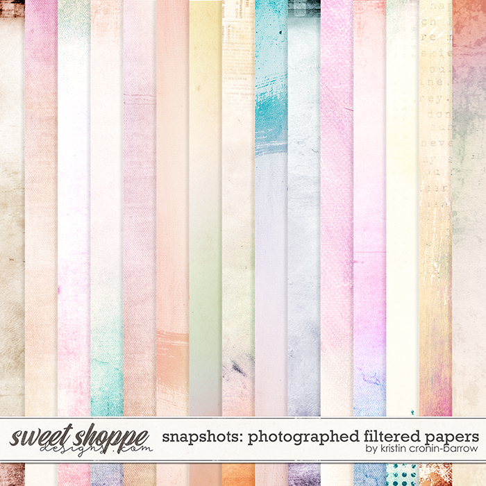 Snapshots: Photographed Filtered Papers by Kristin Cronin-Barrow