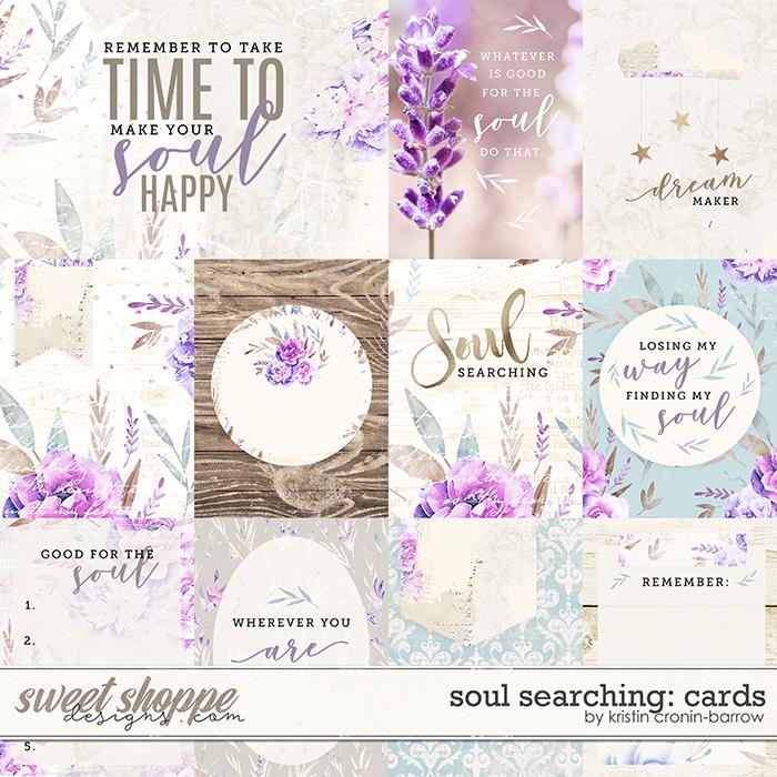 Soul Searching: Cards by Kristin Cronin-Barrow