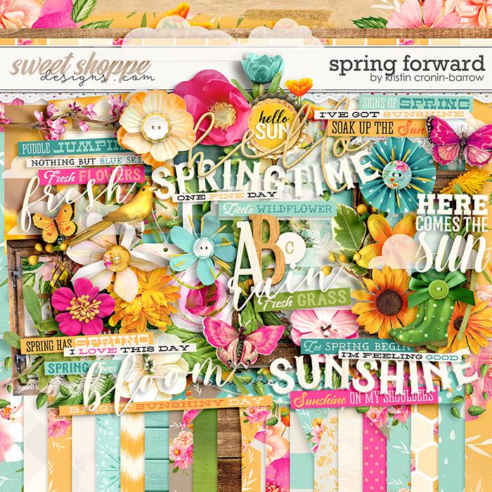 Spring Forward by Kristin Cronin-Barrow