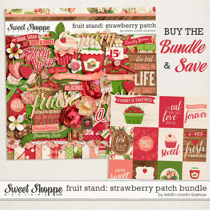 Fruit Stand: Strawberry Patch Bundle by Kristin Cronin-Barrow