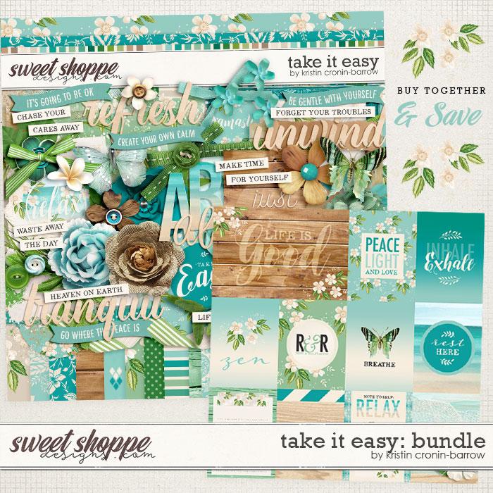Take it Easy Bundle by Kristin Cronin-Barrow
