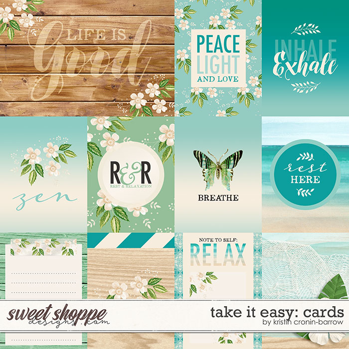 Take it Easy Cards by Kristin Cronin-Barrow