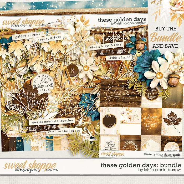 These Golden Days: Bundle by Kristin Cronin-Barrow