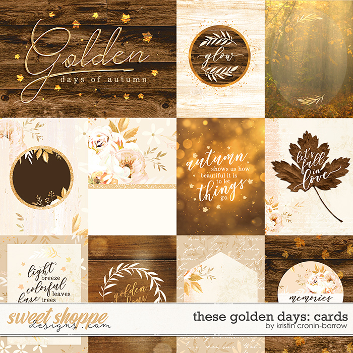 These Golden Days: Cards by Kristin Cronin-Barrow