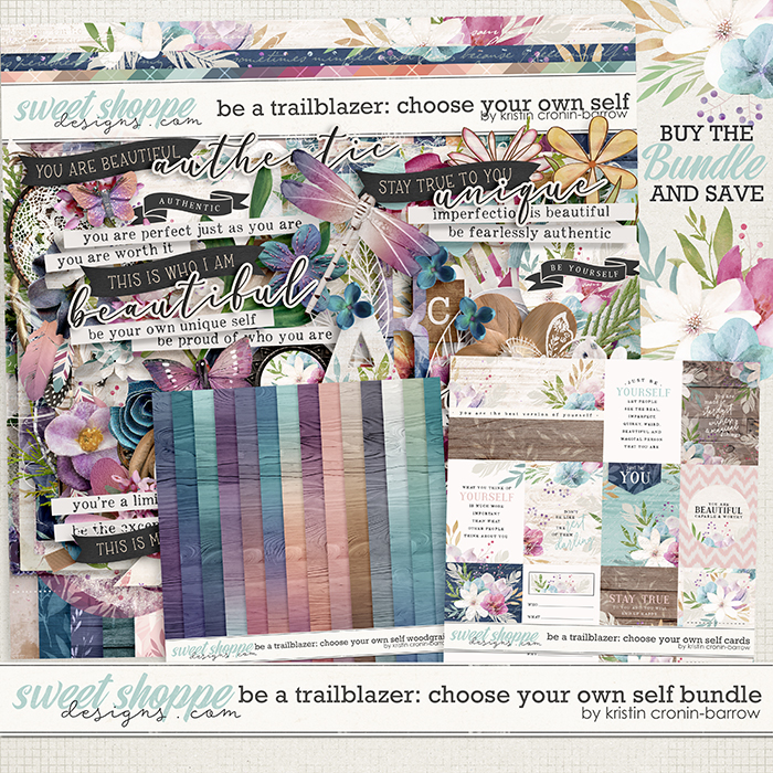 Be a Trailblazer: Choose your own Self Bundle by Kristin Cronin-Barrow