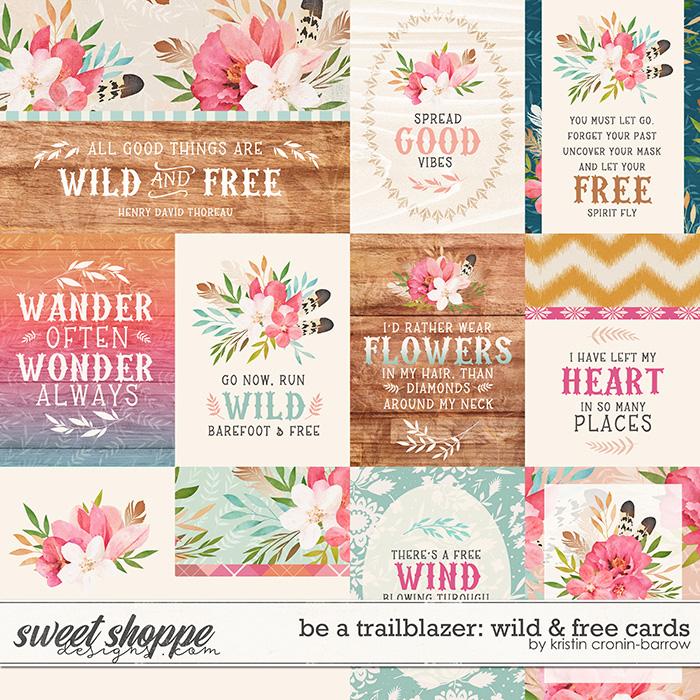Be a Trailblazer: Wild and Free Cards by Kristin Cronin-Barrow