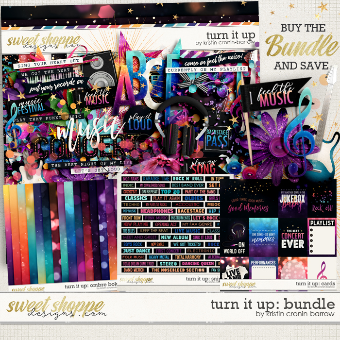 Turn it Up: Bundle by Kristin Cronin-Barrow