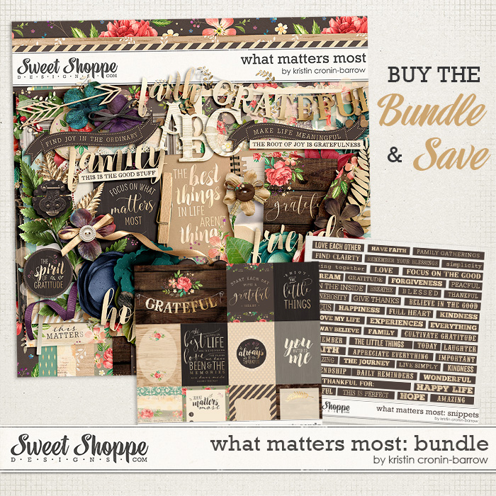 What Matters Most: Bundle by Kristin Cronin-Barrow