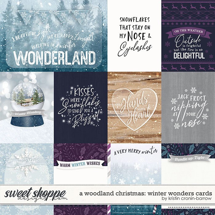 A Woodland Christmas: Winter Wonders Cards by Kristin Cronin-Barrow