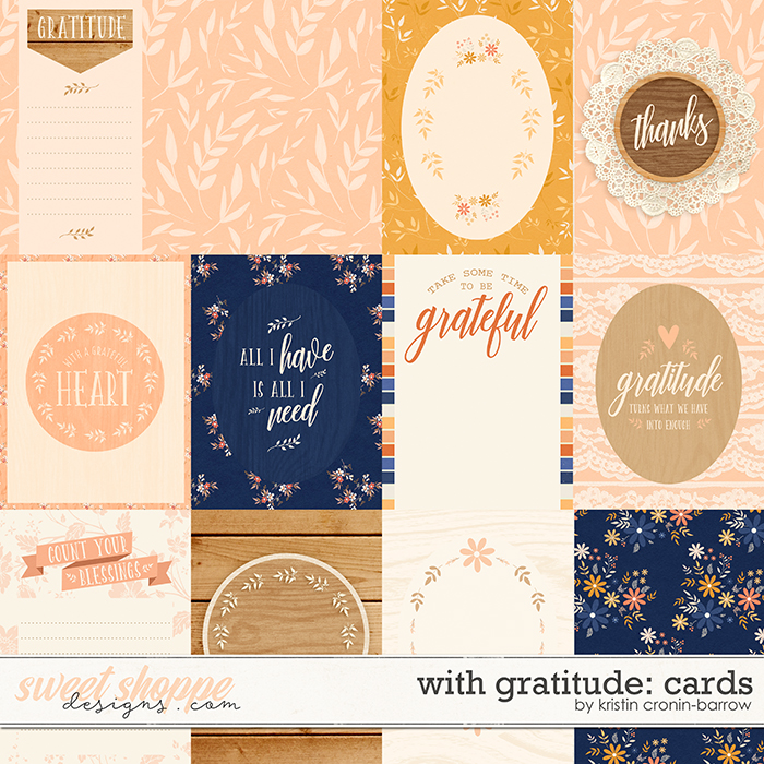 With Gratitude: Cards by Kristin Cronin-Barrow