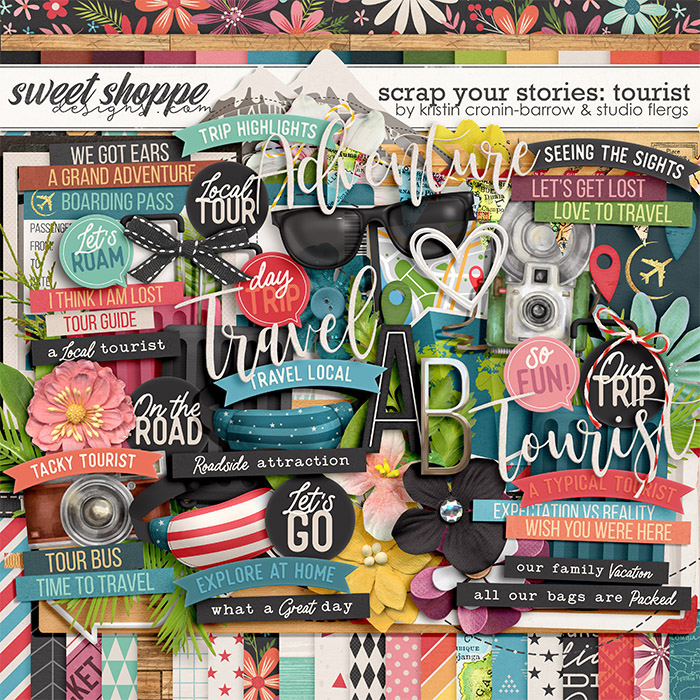 Scrap Your Stories: Tourist by Studio Flergs & Kristin Cronin-Barrow