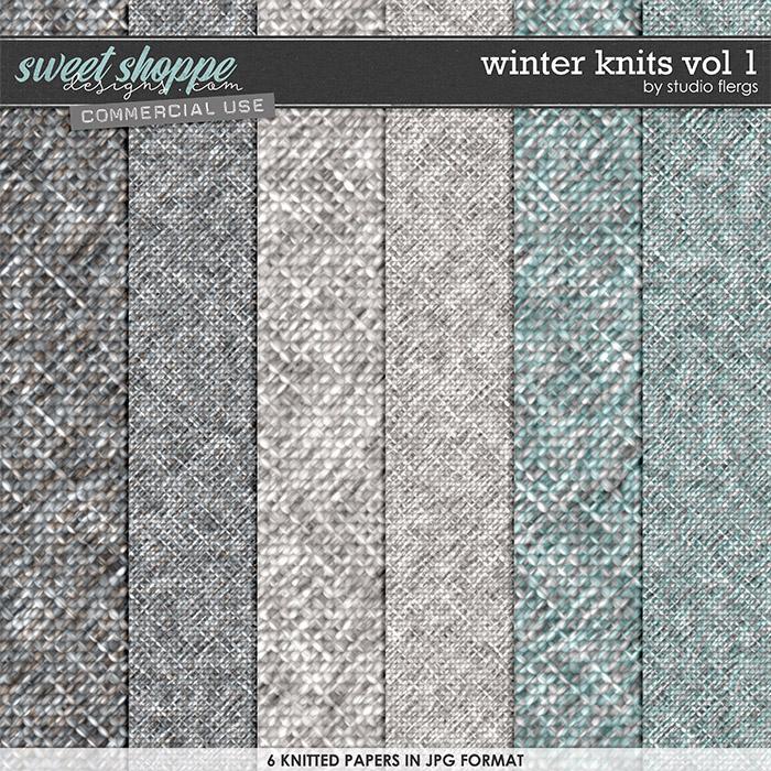 Winter Knits VOL 1 by Studio Flergs