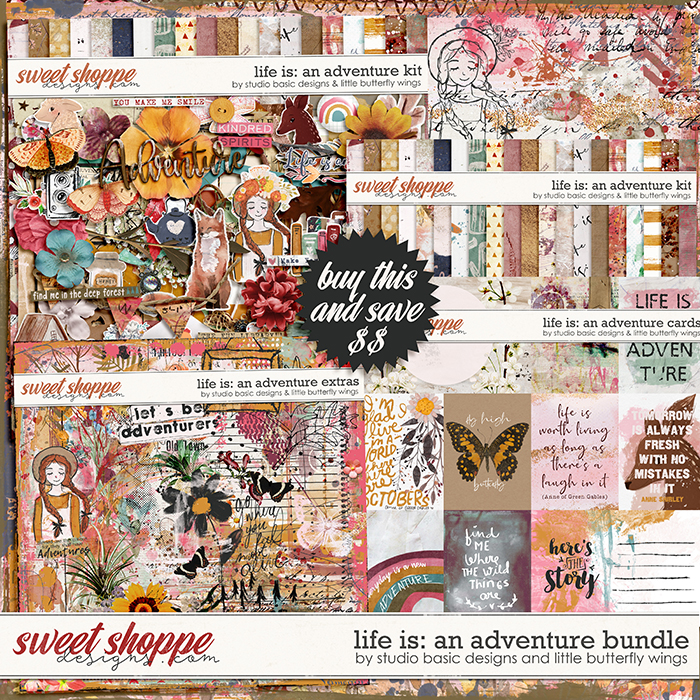 Life Is: An Adventure Bundle by Studio Basic and Little Butterfly Wings