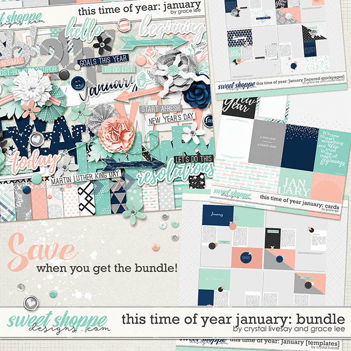 This Time of Year January: Bundle by Grace Lee and Crystal Livesay