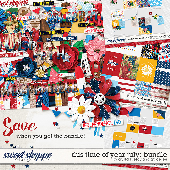 This Time of Year July: Bundle by Crystal Livesay and Grace Lee