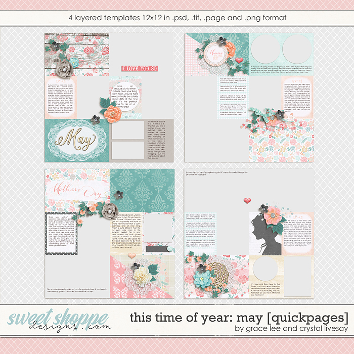 This Time of Year May: Quickpages by Grace Lee and Crystal Livesay
