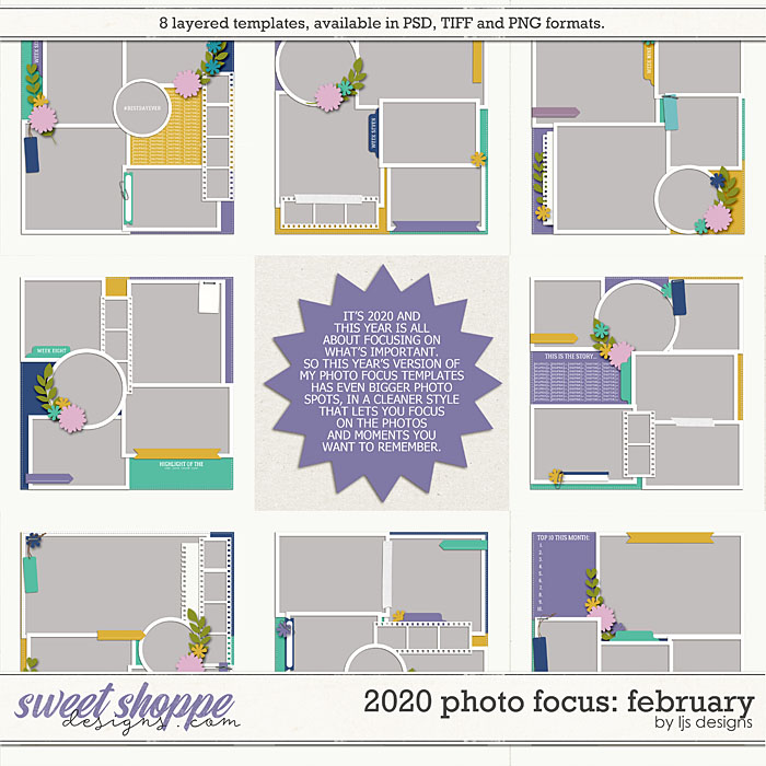 2020 Photo Focus: February by LJS Designs