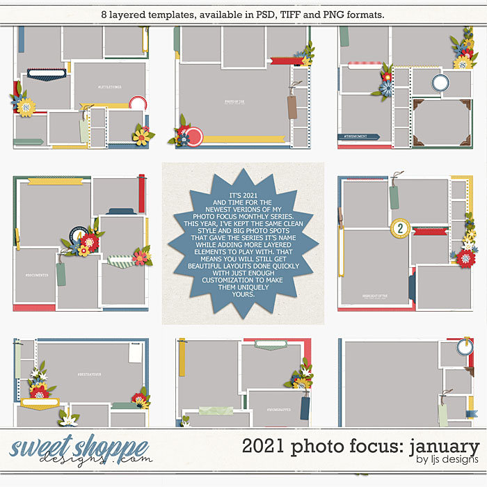 2021 Photo Focus: January by LJS Designs