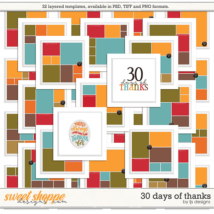 30 Days of Thanks by LJS Designs