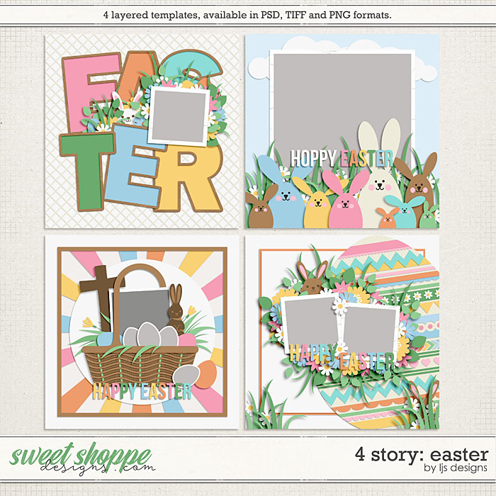 4 Story: Easter by LJS Designs