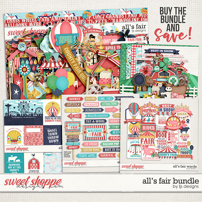 All's Fair Bundle by LJS Designs