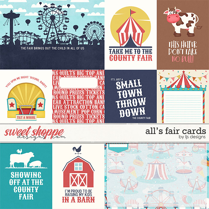 All's Fair Cards by LJS Designs
