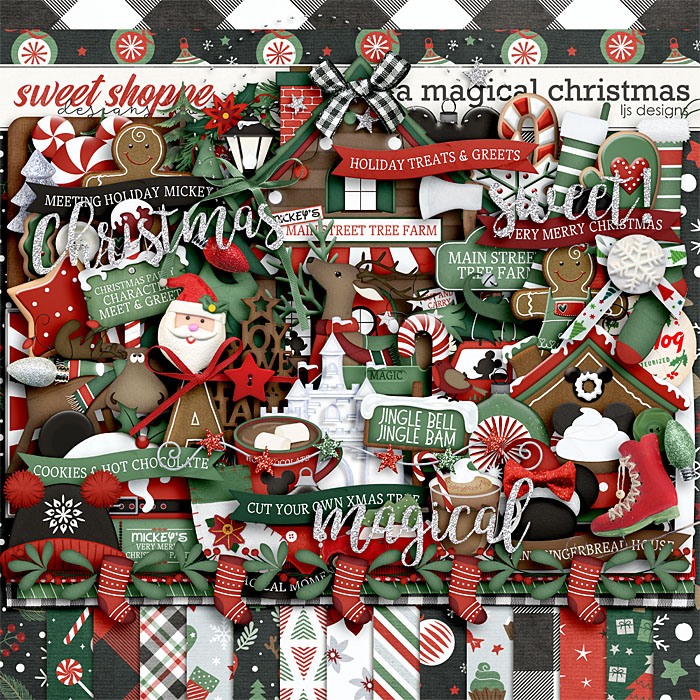 A Magical Christmas by LJS Designs