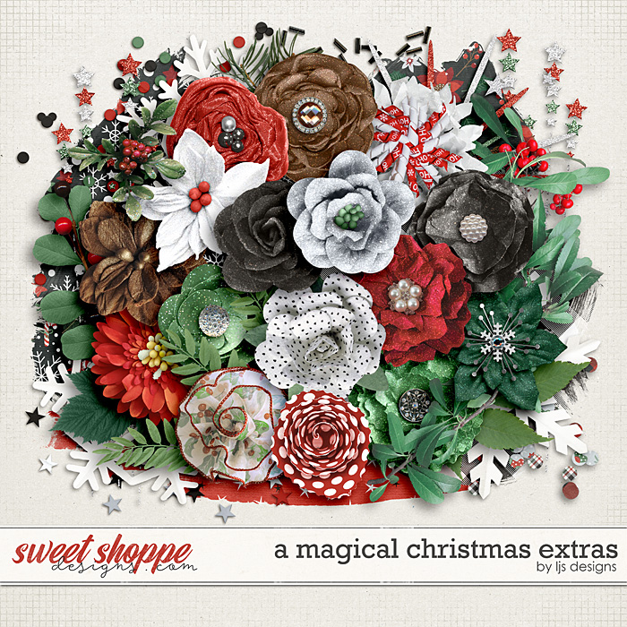 A Magical Christmas Extras by LJS Designs
