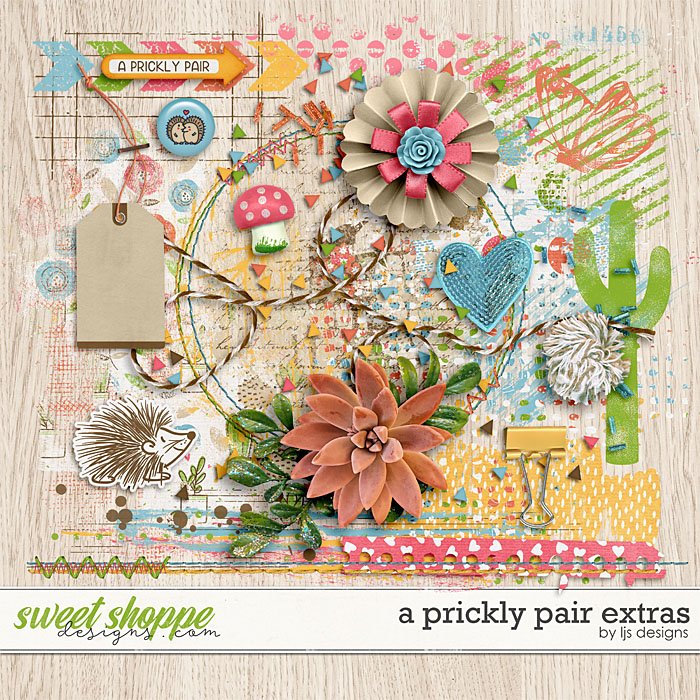 A Prickly Pair Extras by LJS Designs