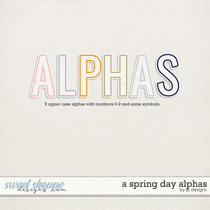 A Spring Day Alphas by LJS Designs