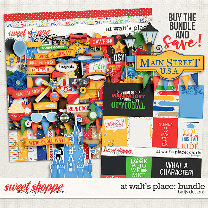 At Walt's Place: Bundle by LJS Designs