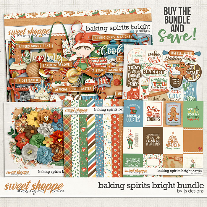 Baking Spirits Bright Bundle by LJS Designs