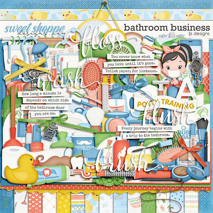 Bathroom Business by LJS Designs