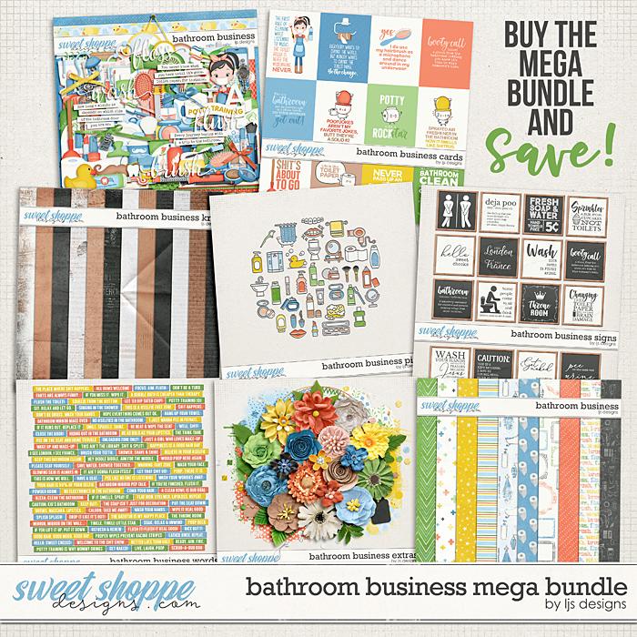 Bathroom Business Mega Bundle by LJS Designs