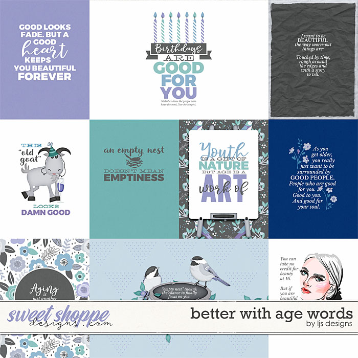 Better With Age Cards by LJS Designs