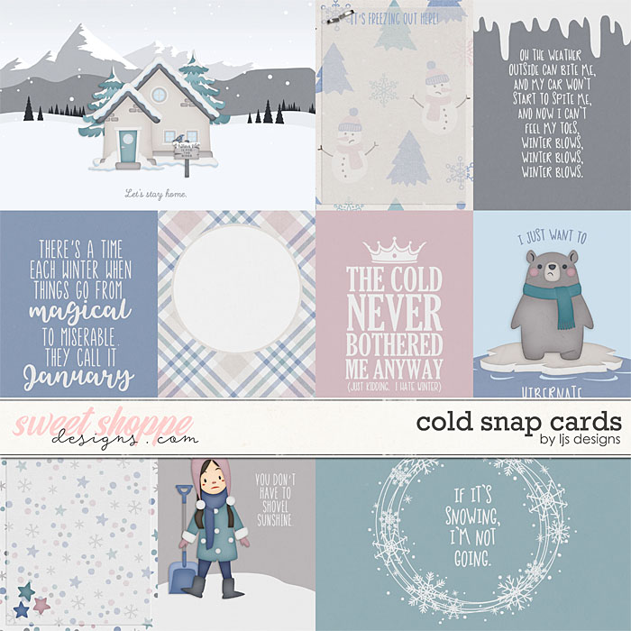 Cold Snap Cards by LJS Designs