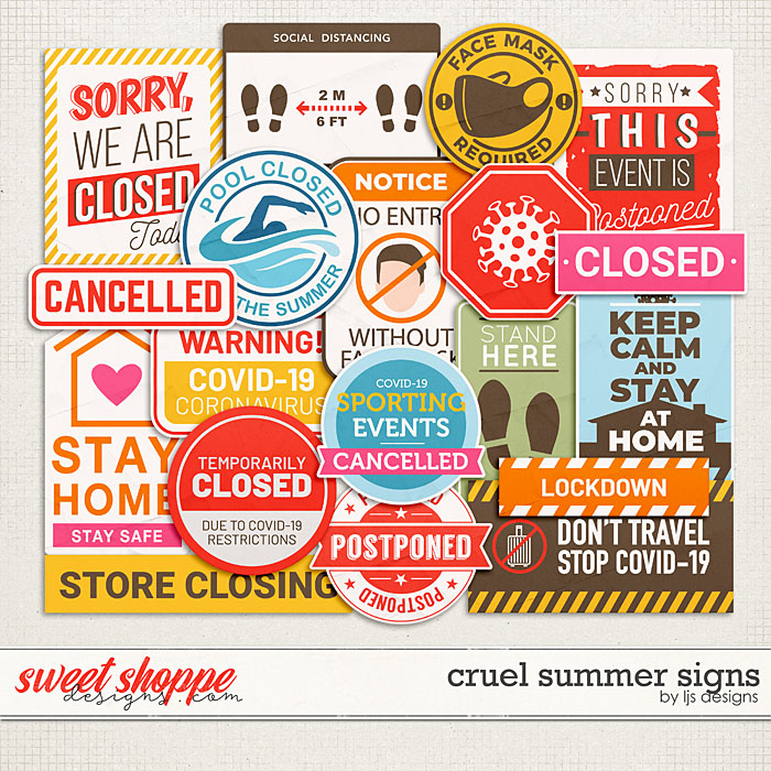 Cruel Summer Signs by LJS Designs