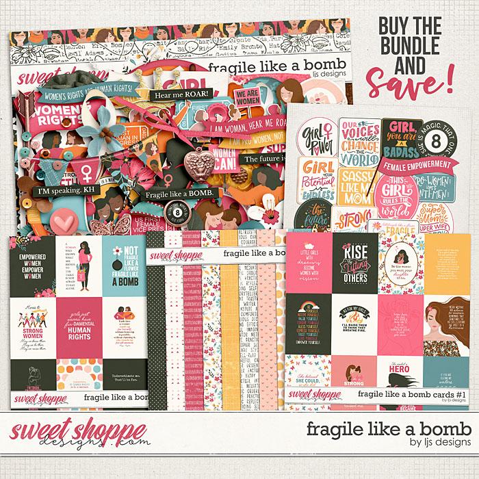 Fragile Like A Bomb Bundle by LJS Designs