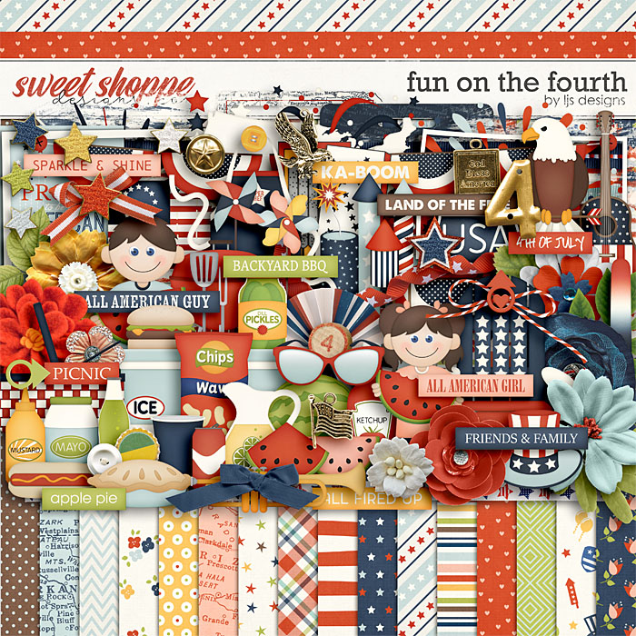 Fun On The 4th by LJS Designs