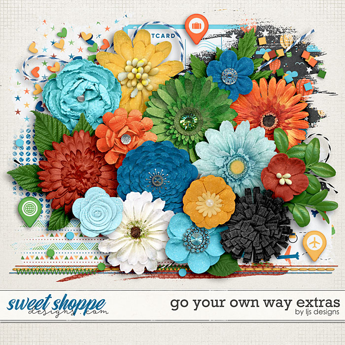 Go Your Own Way Extras by LJS Designs