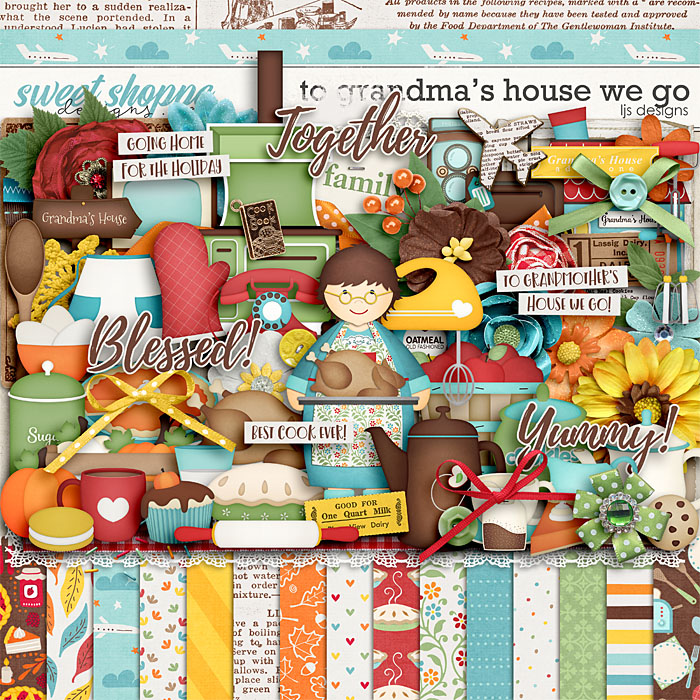 To Grandma's House We Go by LJS Designs