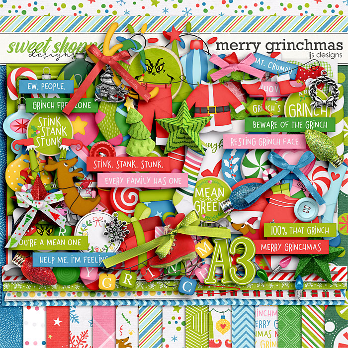 Merry Grinchmas by LJS Designs