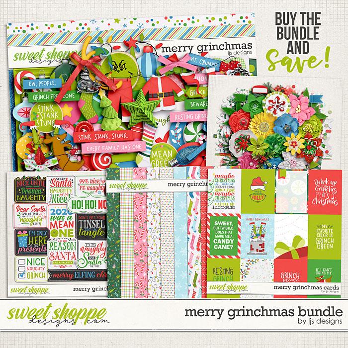 Merry Grinchmas Bundle by LJS Designs