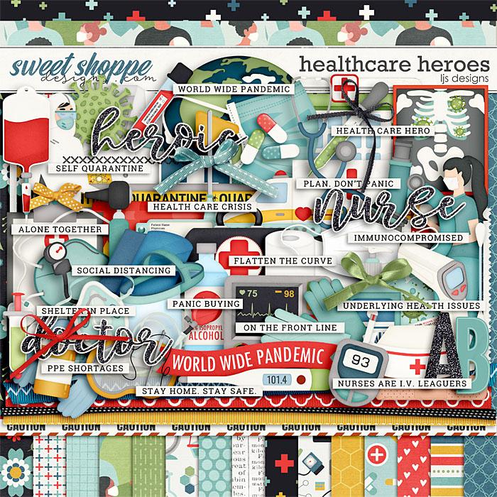 Healthcare Heroes by LJS Designs